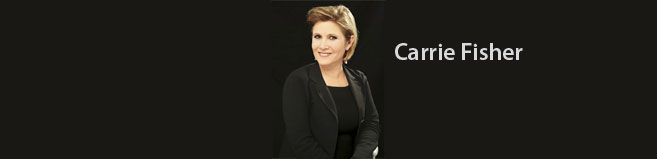Carrie Fisher Speaking Bureau Appearances & Speaking Engagements