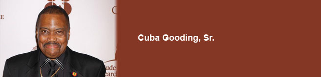 Cuba Gooding Sr. Booking Agency